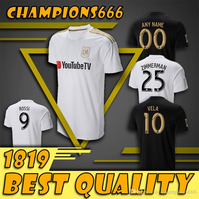 bcee02c50 2019 Special Version 2018 2019 Los Angeles Fc Home Away LAFC Soccer Jerseys 18  19 ZIMMERMAN GABER ROSSI CIMAN VELA FOOTBALL SHIRTS Free Ship From ...