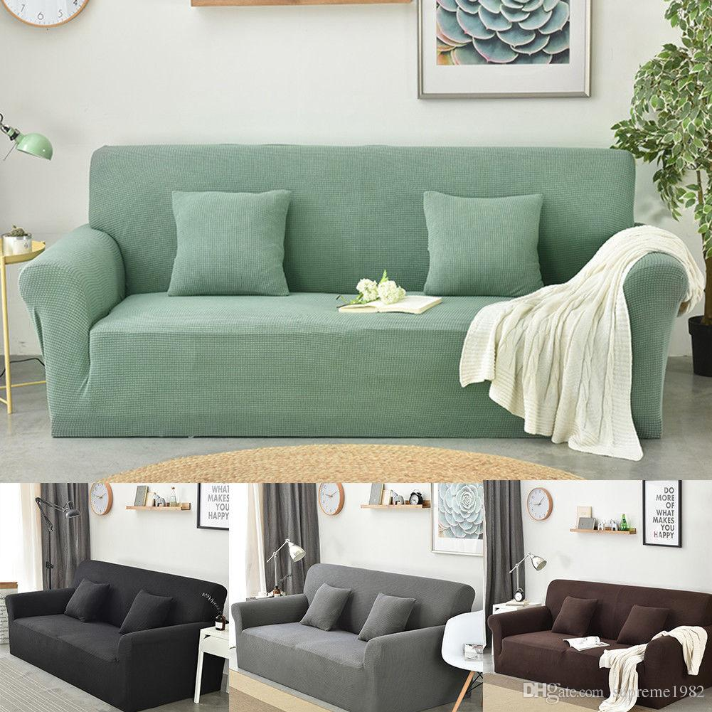 Removable Stretch Sofa Cover Lounge Couch Furniture L