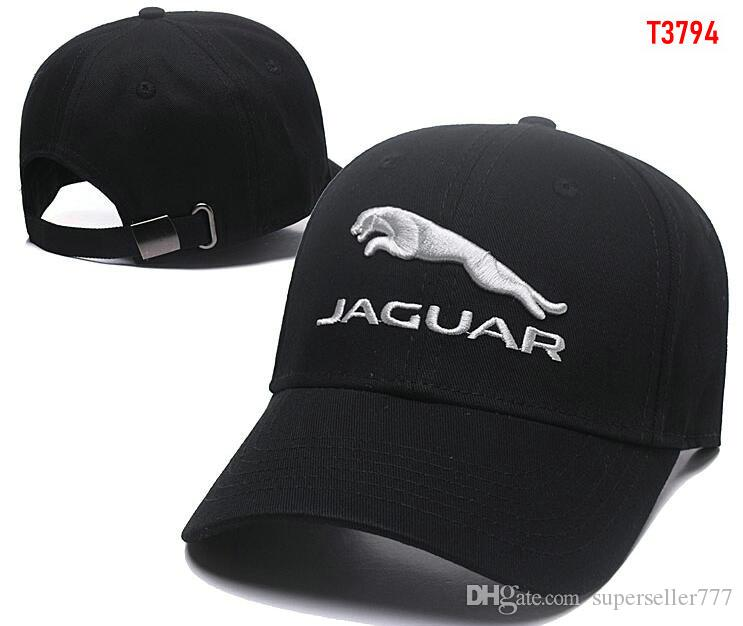 9907b01a877 2019 2018 New Gorras Jaguar Hat Cotton Embroidery F1 Racing Cotton Baseball  Adjustable Golf Cap Car Hats For Women Men Summer Bone Casquette From ...