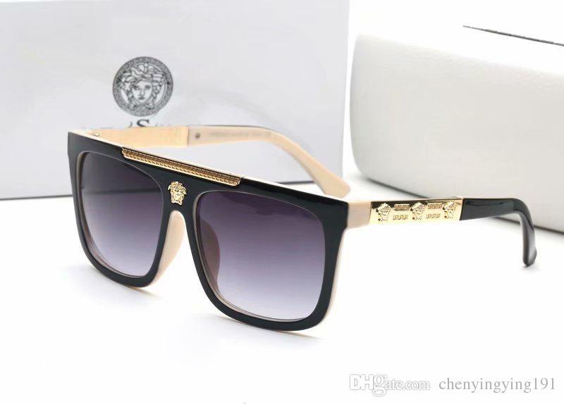 e87fedffc2a Most Popular Medusa Sunglasses Men Women Brand Designer Square Sunglasses  Luxury Summer Style Full Frame UV400 Medusa Sun Glasses 9264 Bolle  Sunglasses ...