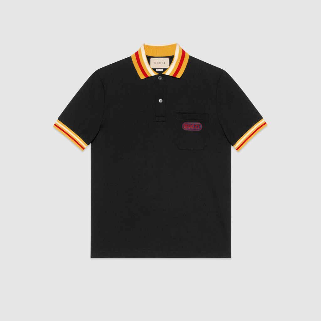 a531d8050981 Men s Casual G-Striped T-Shirt 2018 New Fashion Lapel POLO Shirt ...