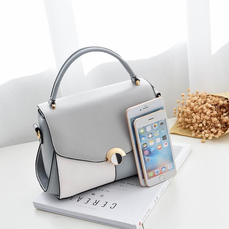2018 горячих женщин сумка цвет кожаные сумки мода сумка 22x17x9cm