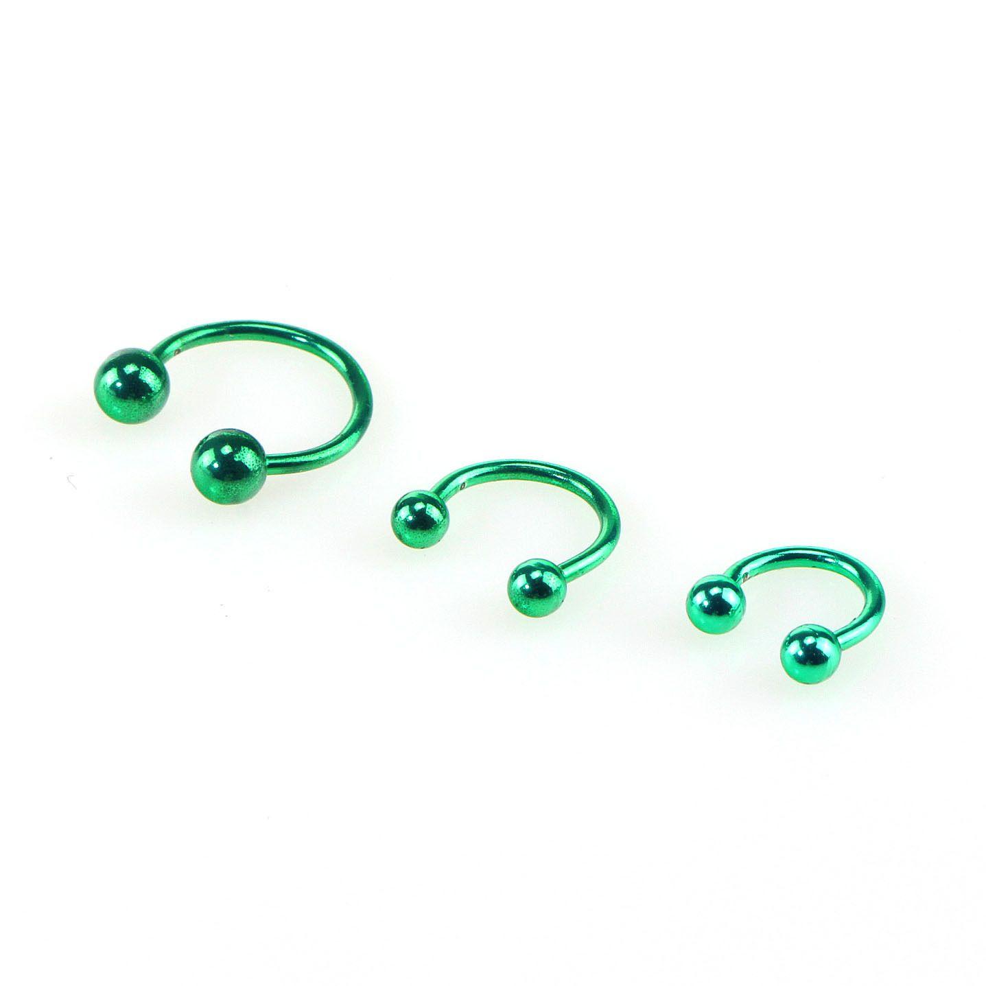 Nose Rings Body Piercing Jewelry Stainless Steel Nose Hoop Ring Earring Studs Bead Ring Ball Eyebrow Nipple Lip rings