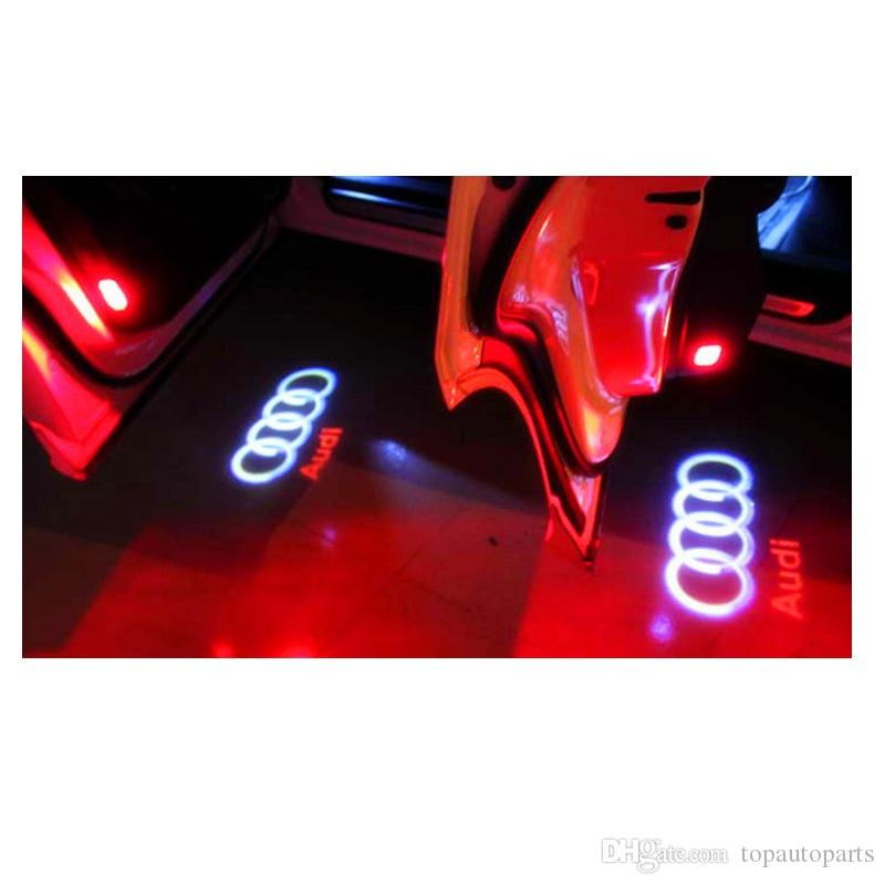 Car LED Door Welcome Light Laser Shadow led Projector Logo For Most AUDI And Universal Car
