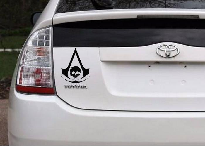 Wholesale Assassins Creed Ac Iv Jdm Vinyl Decals Car - Vinyl decals for cars wholesale
