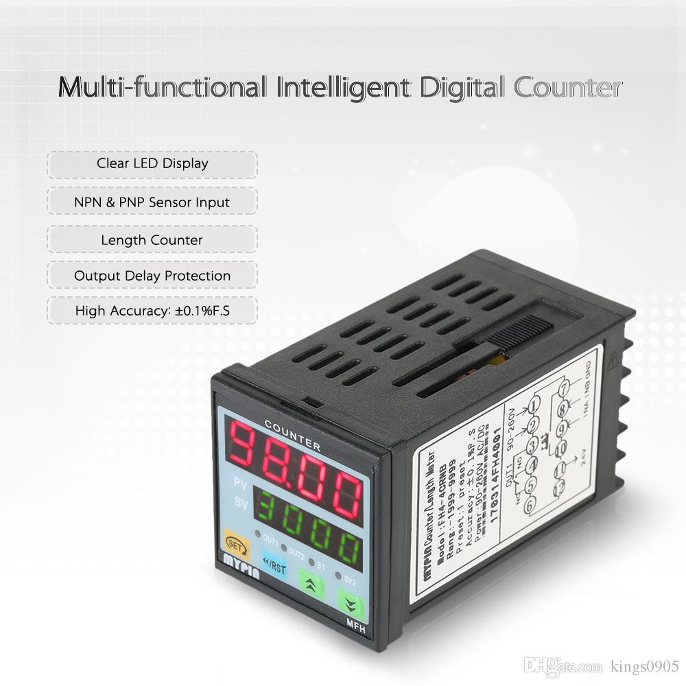 MYPIN Multipurpose Preset 4 Digital Counter Intelligent 90260V AC