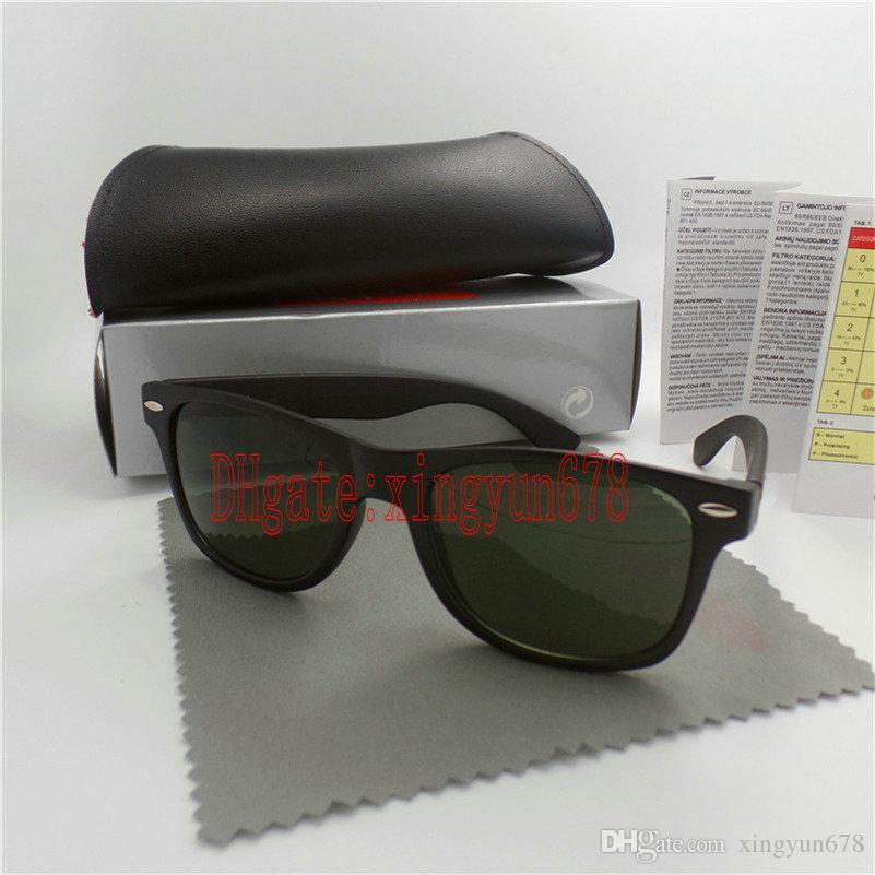 High quality Brand Designer Fashion Beach Men Sunglasses UV Protection Outdoor Sport Vintage Women Sunglasses Retro Eyewear With box -hgijxr