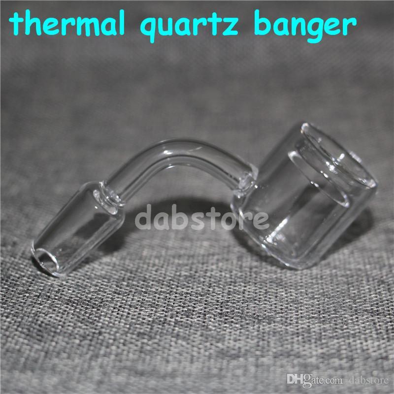 Термальный кварцевый гвоздь высококачественный термальный кварцевый гвоздь гвоздь новая модель 90 градусов 10мм 14мм 18мм мужская сука для стеклянного бонга