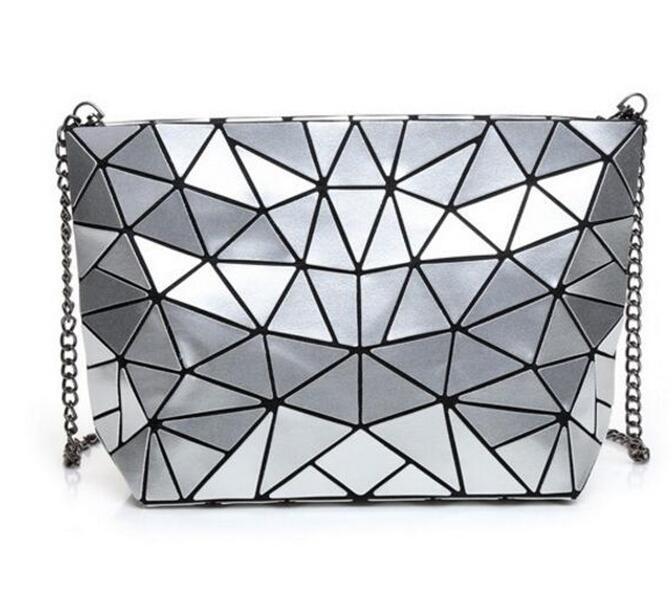 Women Bao Bao Bag New Geometry Laser Handbag Fashion Chain BAOBAO Clutch  Crossbody Bags For Women Shoulder Bag Bolsos Mujer Ladies Handbags Leather  Handbags ... 7d08917120801