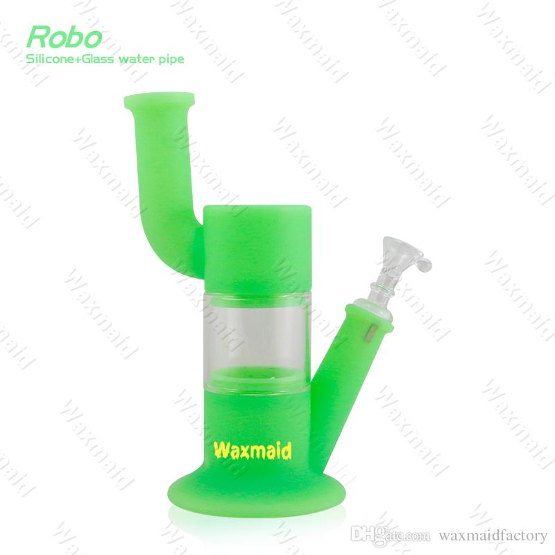 Watering Can Portable Silicone Water Pipe Hookah Tobacco Pipe Rig Spoon Tool