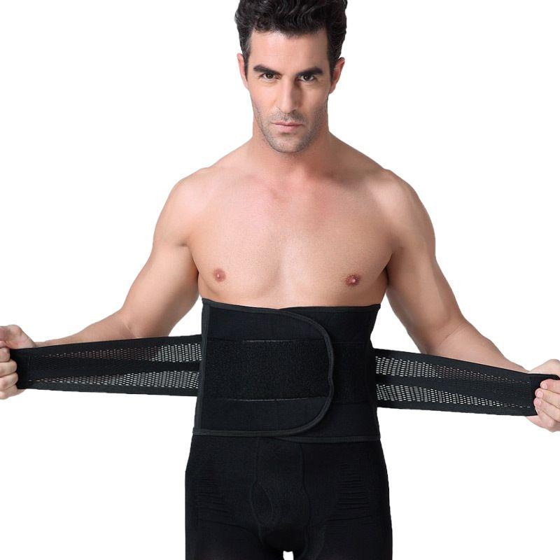 49d189406dcfa 2019 Suharybo Slimming Belt Belly Men Body Shaper Man Corset Abdomen Tummy  Slimming Shaperwear Waist Trainer Cincher Slim Girdle From Beke