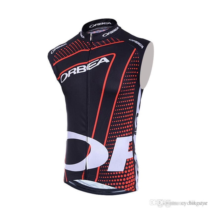2017 ORBEA Cycling Vest Bike Sleeveless Jerseys Cycling Clothing ... cf4558142