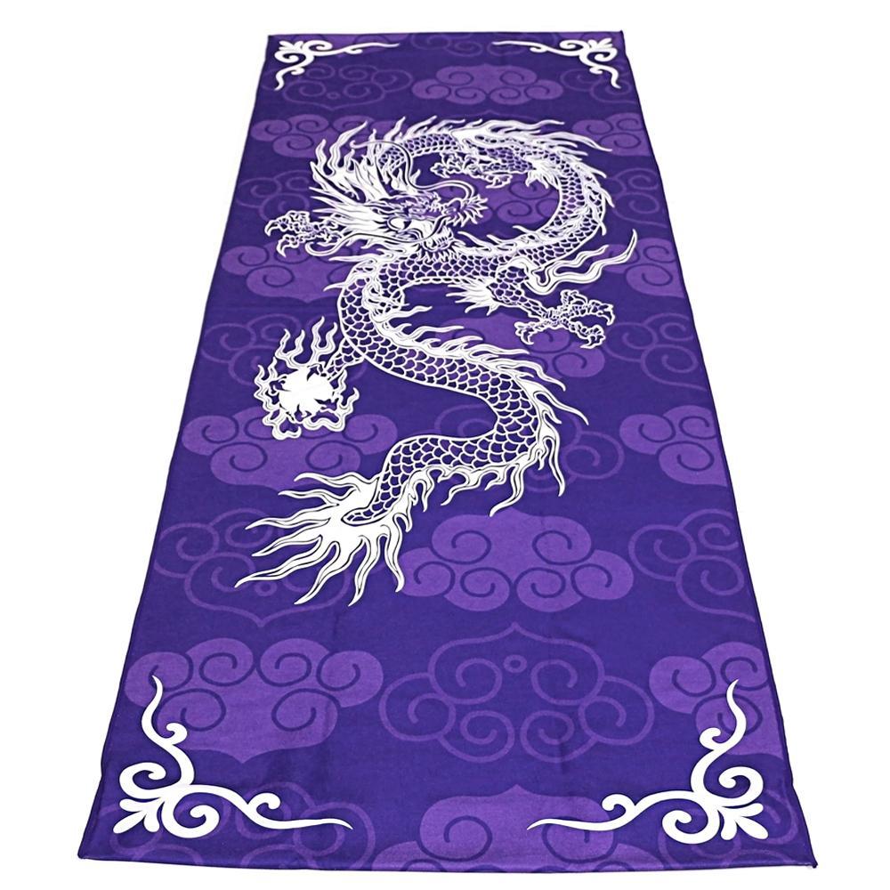 Großhandel Kühlen Sie 3d Drachen Yoga Matten Tuch Microfiber Nicht