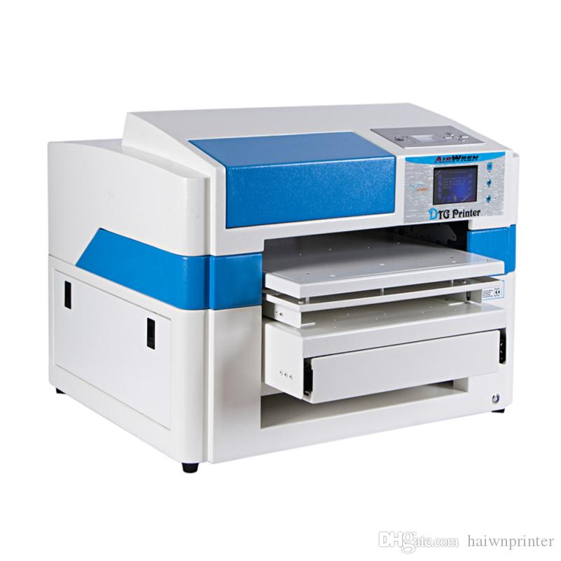 3d effect a2 size t shirt printer dtg canvas printing machine price