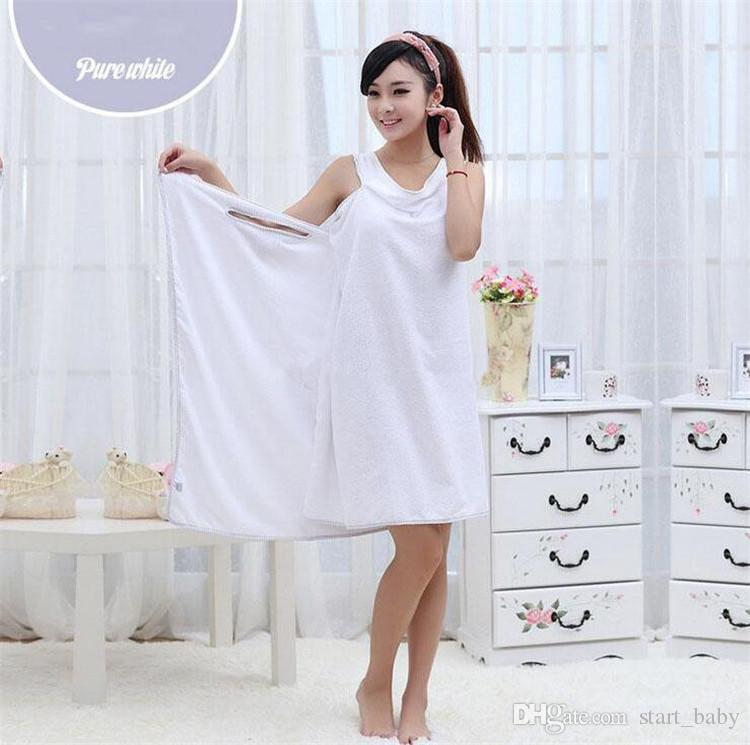 Women bath towel Solid Sexy Variety of magic Bathrobe 145*80cm bath towel B11