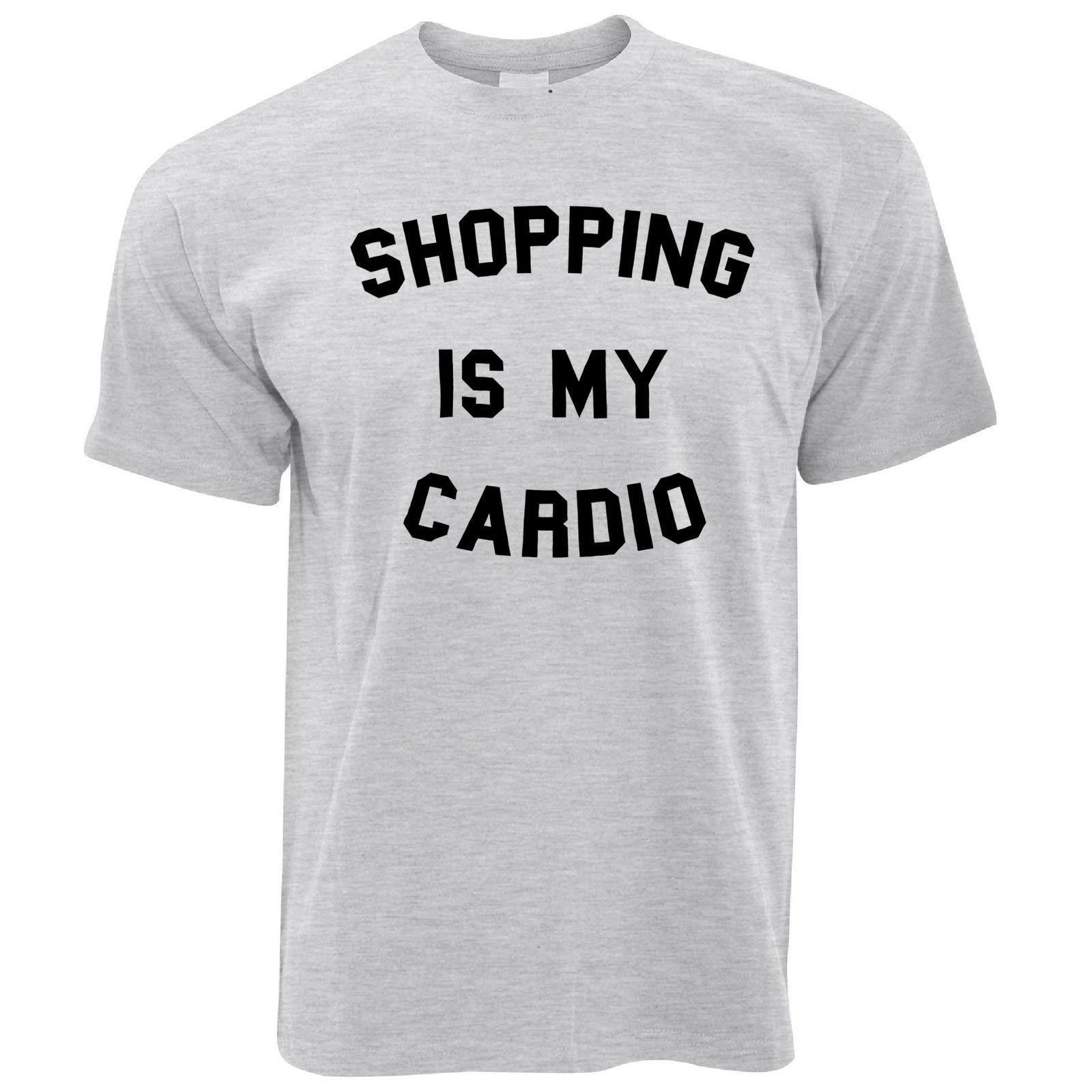 914c8595 Shopping Is My Cardio Girly Cute Slogan Feminine Funny Fitness Mens T Shirt  It T Shirt Design Clever Tee Shirts From Sugarlisaxx, $11.01  DHgate.Com