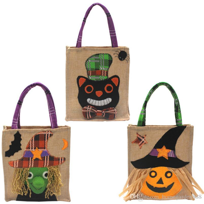 2019 New Halloween Candy Bags For Children Party Pumpkin Bag Gift
