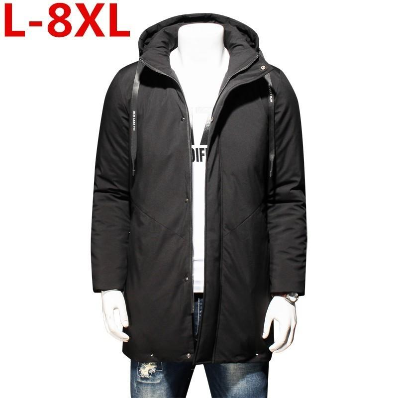 7832f1d896 2019 New 8XL 7XL High Quality Parka Men Winter Long Jacket Men Thick Cotton  Padded Jacket Mens Parka Coat Male Fashion Casual Coats From Qingxin13, ...