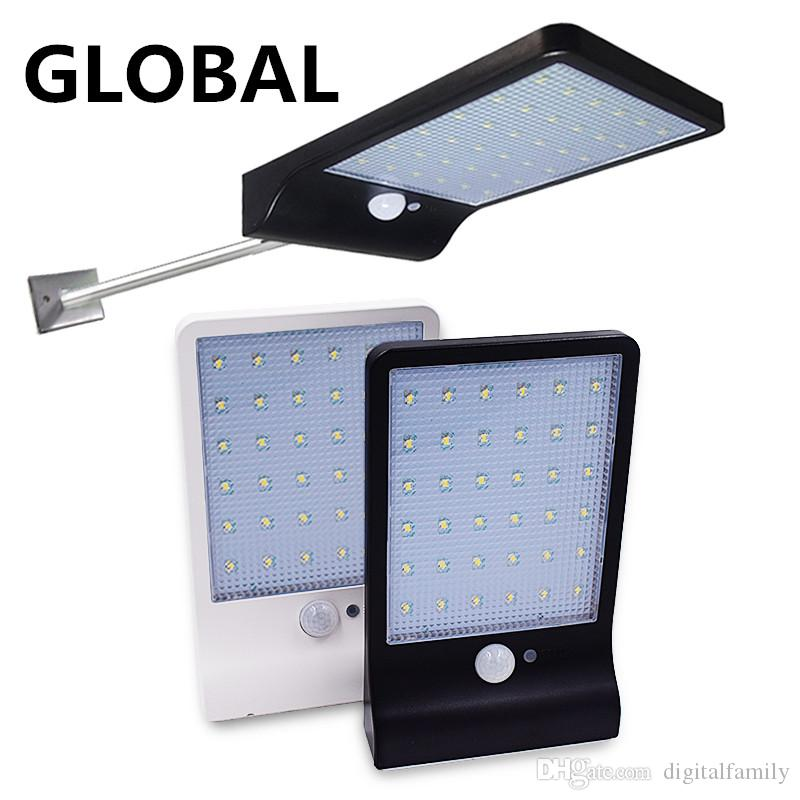 LED Solar Light 450LM 36Led Solar Powered Led Outdoor Light Security Wireless Waterproof With PIR Motion Sensor Light