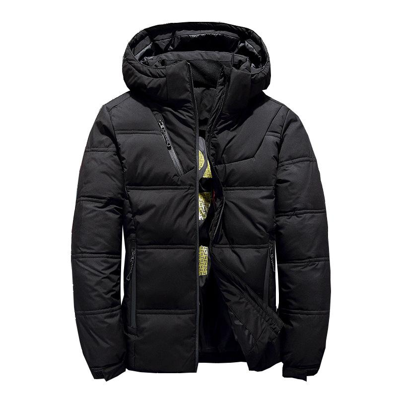 Fashion Brand Male Down Jacket Thick Hooded Windproof Winter jacket men Warm Snow coat Casual Men Clothing 2018 Plus Size M-3XL