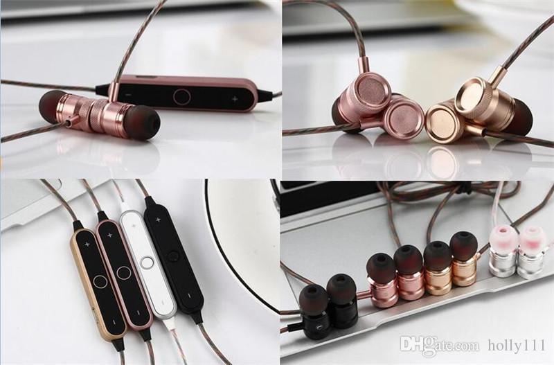 BT-22 Sports In-Ear Wireless magnetic Bluetooth 4.2 Smart Sport Stereo Music Earphones Headphone Headset For iPhone Xiaomi Huawei Meizu