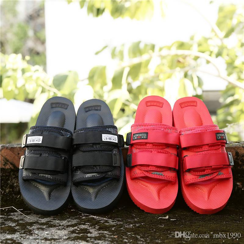 2018 Nuevos Zapatillas Zapatos de Moda Hombre y Mujeres Zapatos Informales Zapatillas Sandalias de Playa Zapatillas de Exterior Sandalias de Hip-Street