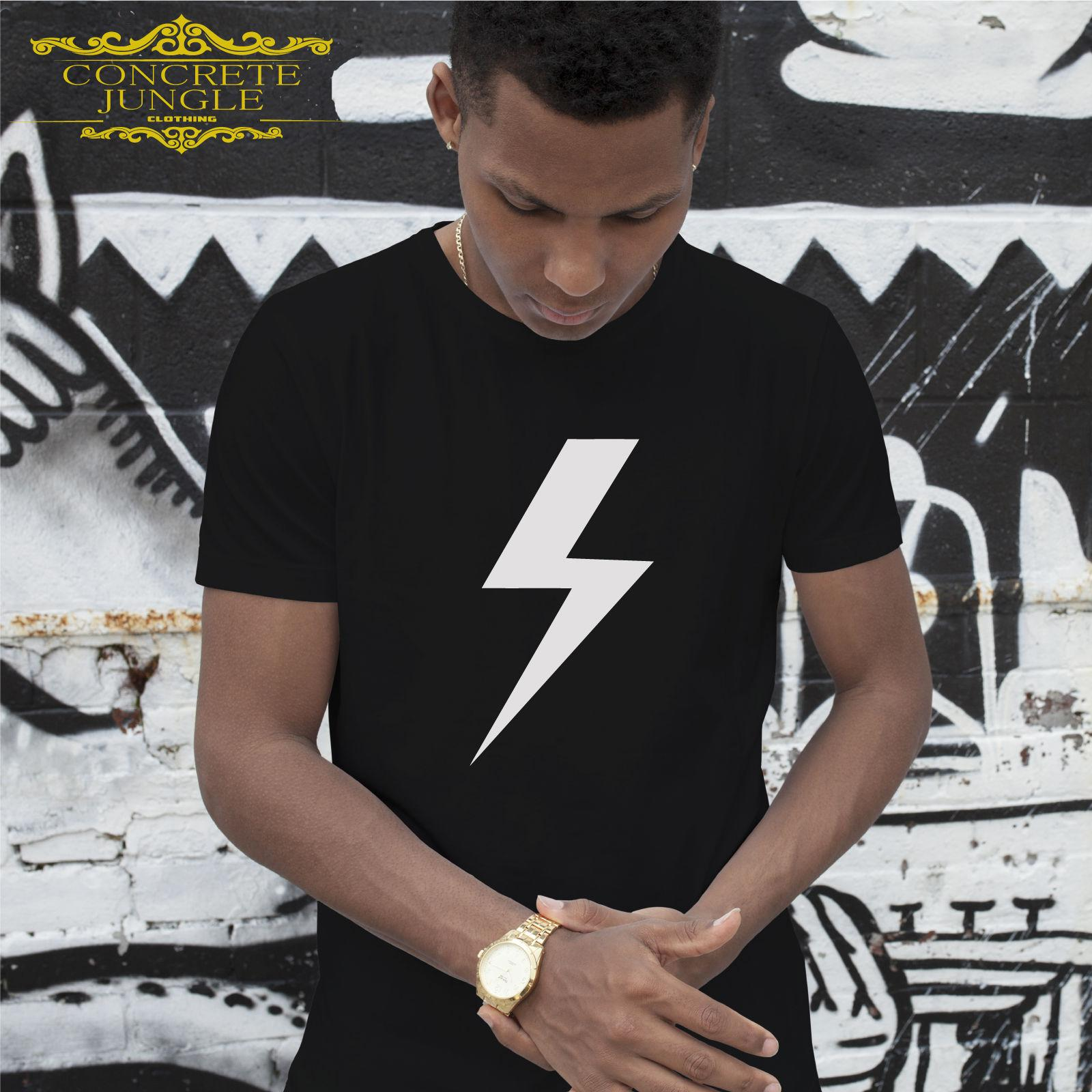 08f48558f8b7a3 Lightning Bolt Design T Shirt Hipster Wholesale Discount Tee Funny Tops Tee  New Unisex Funny High Quality Casual Printing Cool Tee Designs Tees Shirts  Cheap ...