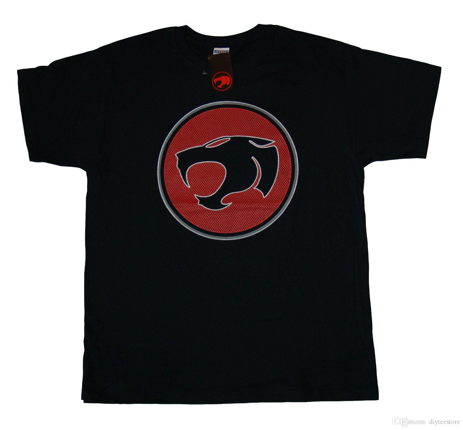 21df86da76420b Großhandel Thundercats Maschen Logo T Shirt S M L Xl 2Xl Nagelneues  Offizielles T Shirt T Shirt Für Mann Mode Kurzschluss Hülsen Baumwolle ...