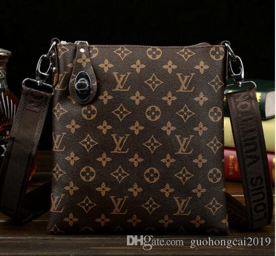 2018 Classic Brand Canvas Shoulder Bags Men Womens Messenger Bag Students  Satchels Bag Black Brand Bag From Guohongcai2019 a648dd79a2dda