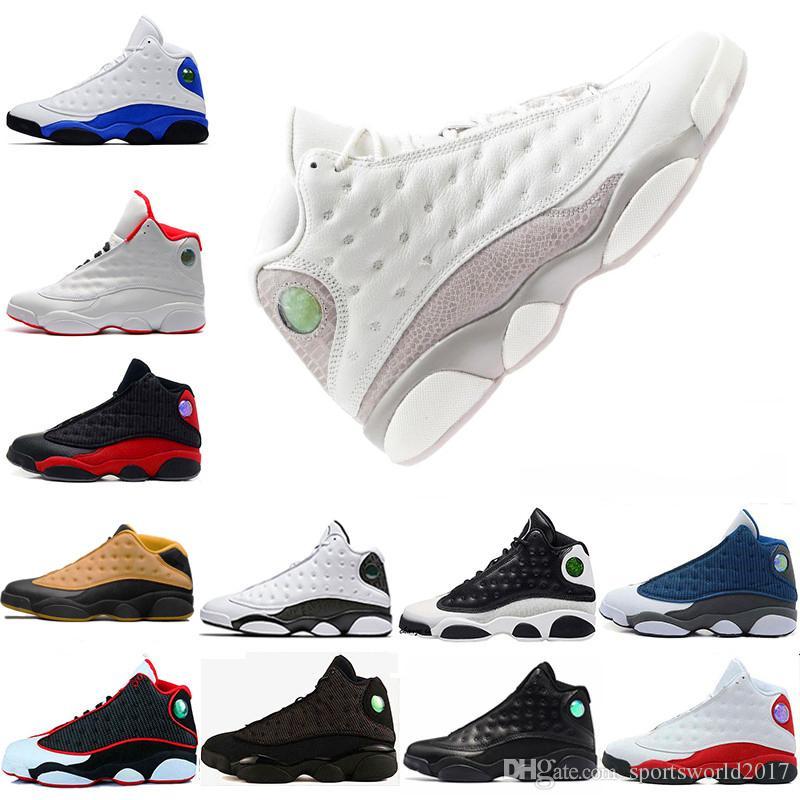 grossiste 347a5 8570b Retro Air Jordan 13 AJ13 Nike Nouveautés Chaussures de basket-ball pour  hommes Chaussures de sport pour homme de 13 ans Chaussures de sport pour  homme