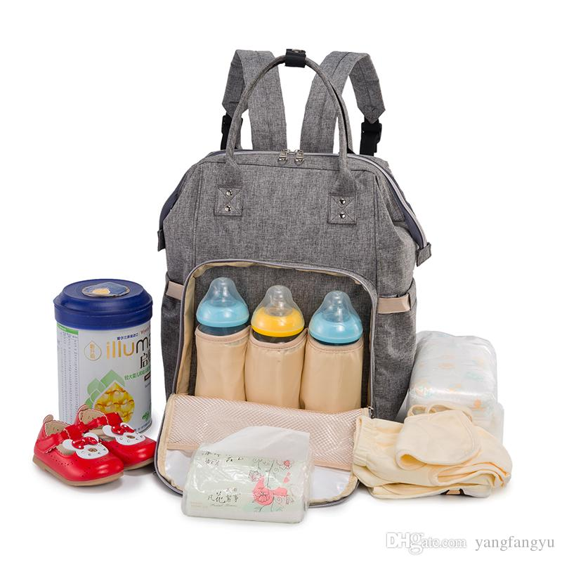 da55dce3f69c 2019 Mommy Package Baby Diaper Bag Shoulders Mom And Child Bundle Baby  Utility Bag 2018 New Hot Wholesale From Yangfangyu