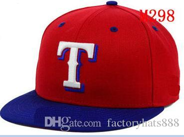 f37a2be3afa Fitted Hats Sunhat Rangers Baseball Embroidered Team Letter Flat ...