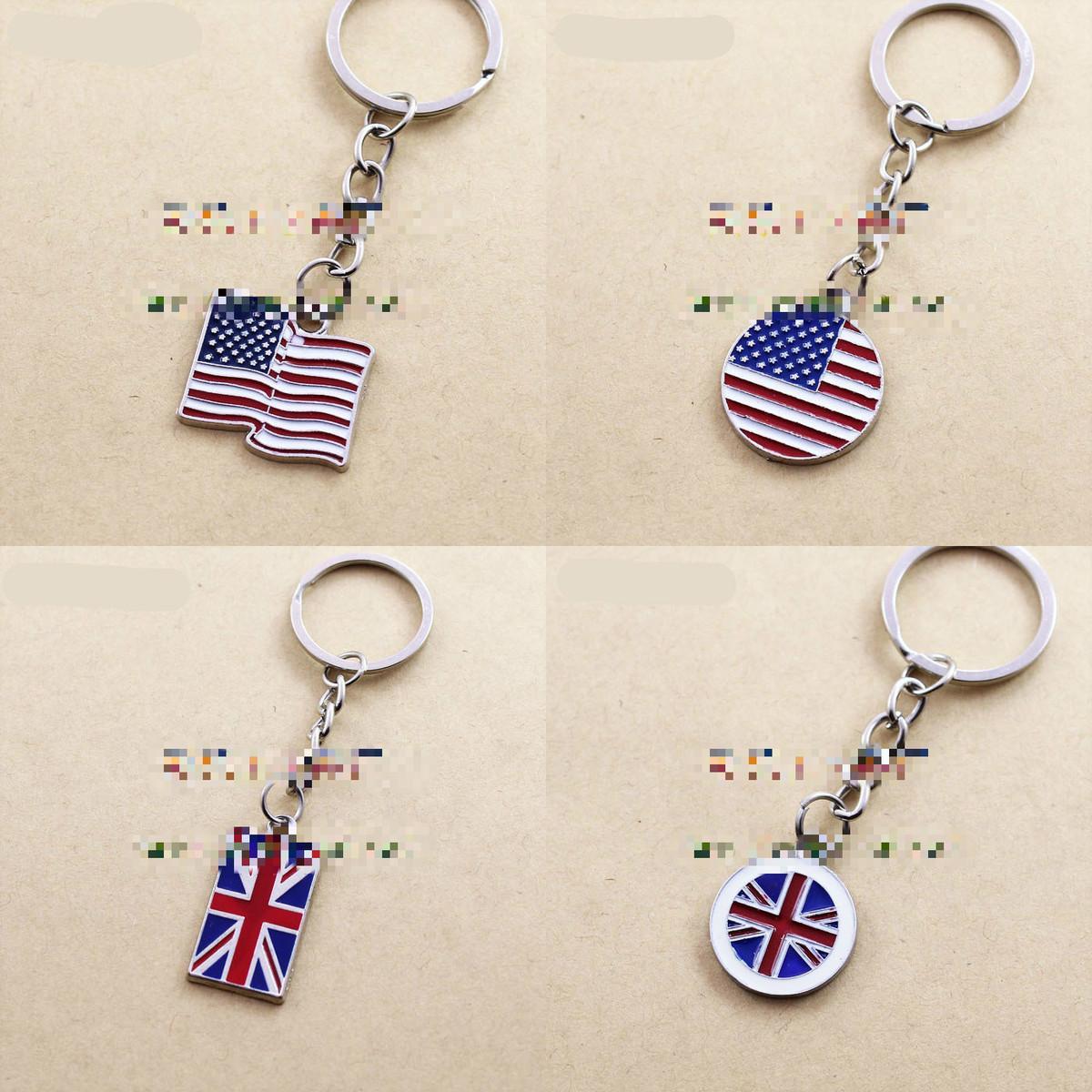 7 Shapes American USA Flag Keychain UK Britain National Flag Keychains Car Key  Ring Holder Bag Womens Handbag Pendant Chocolate Favors Chocolate Party ... 7caf396db