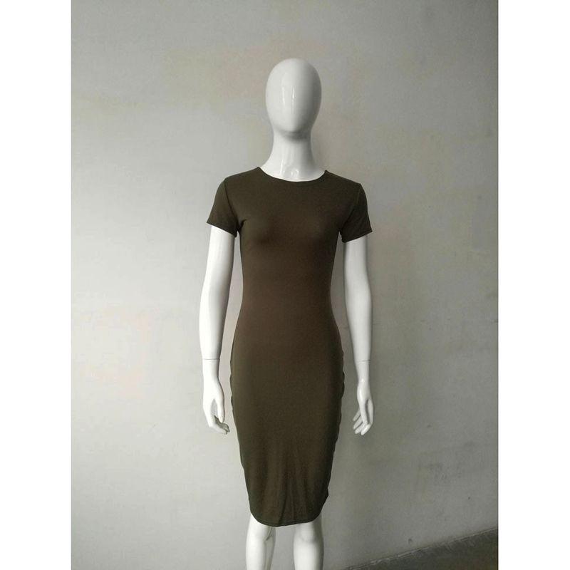 Yeni Geldi Sonbahar Kış Elbiseler Seksi Ofis Elbise Bodycon Elbise Siyah Ordu Yeşil Gri Parti Elbiseler Güz Kadınlar Vestidos MT1155