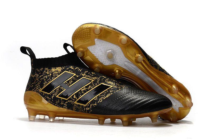 2018 ACE 17 + PureControl FG Ejderha En İyi Kalite Açık Futbol Ayakkabıları ACE Tango 17 + Purecontrol Futbol Çizmeler Futbol Cleats