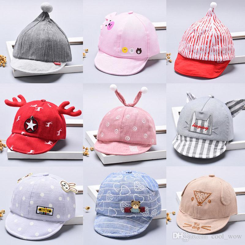 Snapback Hat Children Cartoon Unisex Baby Baseball Cap Boy Cap for ... 988954f03ed