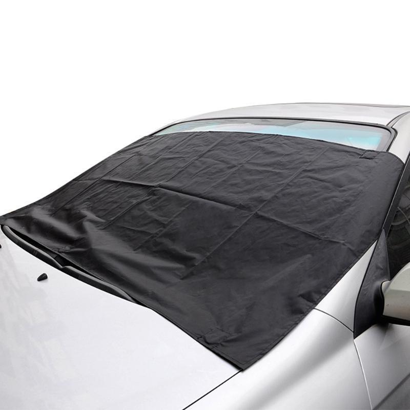 1 Unid Cubiertas Magnéticas Del Coche Cubierta Del Parabrisas Del Viento Calor Sun Shade Anti Nieve Helada Escudo de Hielo Protector de Polvo de Invierno Car Styling