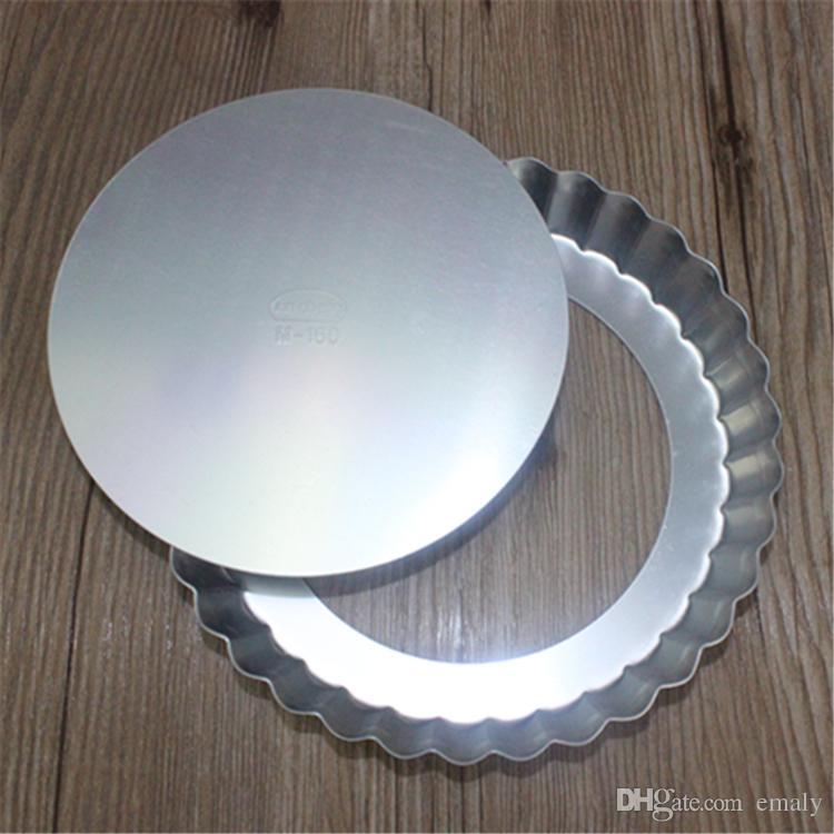 6-дюймовый круглый антипригарный противень для пиццы с ложным дном