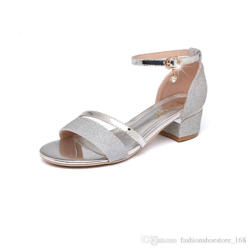 5488bece73aaef Acheter Gladiator Sandals Femmes Sandalias Mujer 2018 Dames D'été  Chaussures Femmes Sandales Bout Ouvert Talons Sandales De Mariage Talons  Hauts Sandalen ...