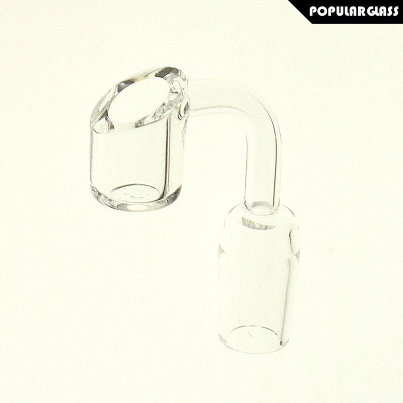 Saml 4mm Quarzo spessore Banger Accessori fumo Unghie Maschio Giunto Dimensioni 14mm e 18mm 90 gradi PG5068