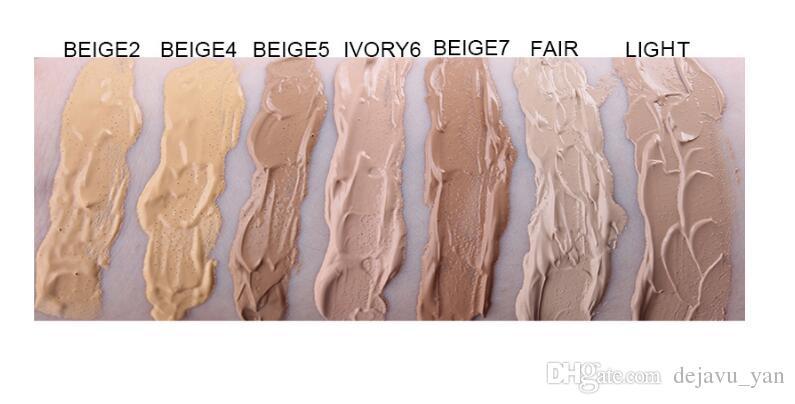 دي إتش إل الحرة ملكة جمال روز المهنية ماتي ارتداء الأساس السائل 37ML الحرير طويل الأمد المخفي كريم ألوان مختلفة لخلق بشرة خالية من العيوب