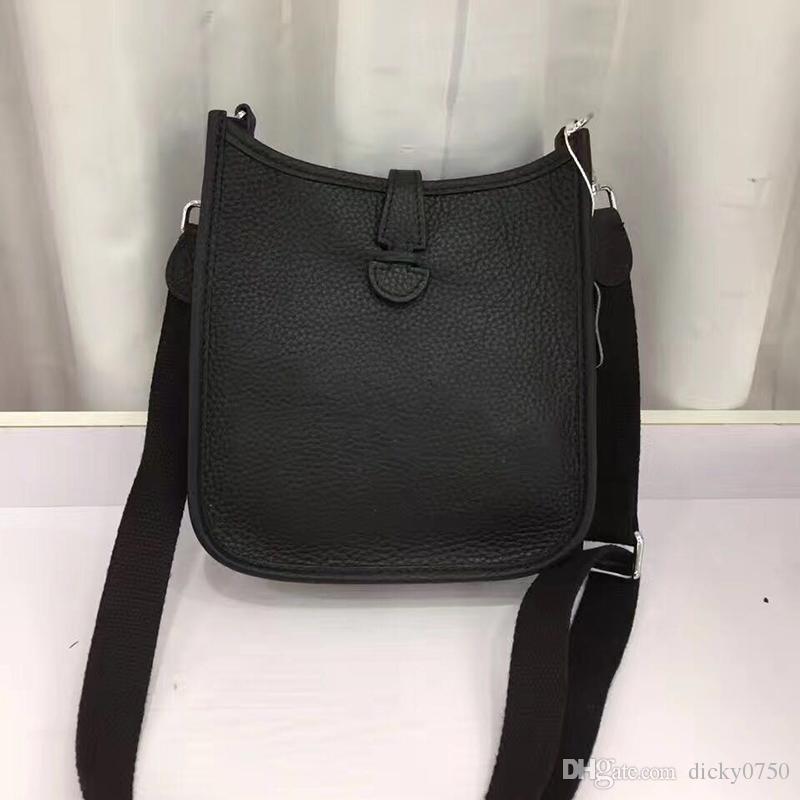 2018 toptan gerçek dana hakiki deri moda omuz çantası mini çanta polikromatik alışveriş çantası çanta rahat postacı çantası