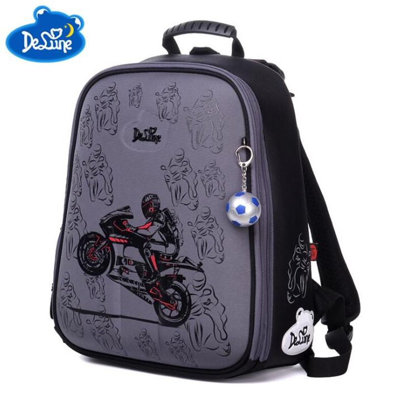 68003de4313 Delune Design Boys School Bags Primary Student Portfolio Backpacks  Orthopedic Backpack Kids Satchel Mochilas Infantis Kid Bag Man Bags Jute  Bags From ...