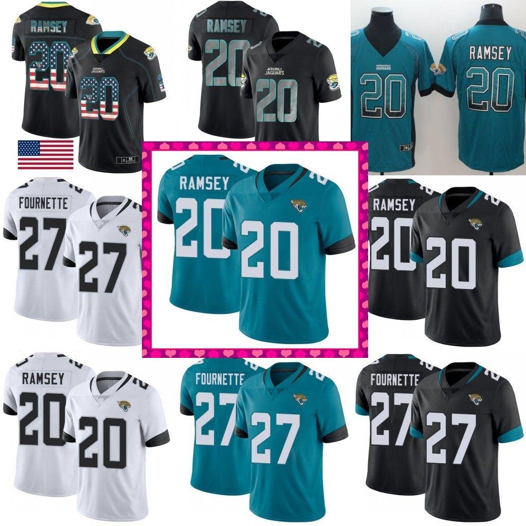 83b500827 2019 2018 New Limited 27 Leonard Fournette Jaguars Jersey 20 Jalen Ramsey 5 Blake  Bortles Football Jerseys From Jerseyoutlets