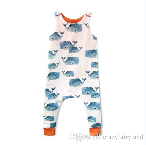 2154973e5b1c Baby Print Rompers Kids Clothing Fox Giraffe Boy Girls Forest Road Newborn  Infant Baby Girls Boys Summer Clothes Jumpsuit Playsuits 15 Style Baby Boy  Romper ...