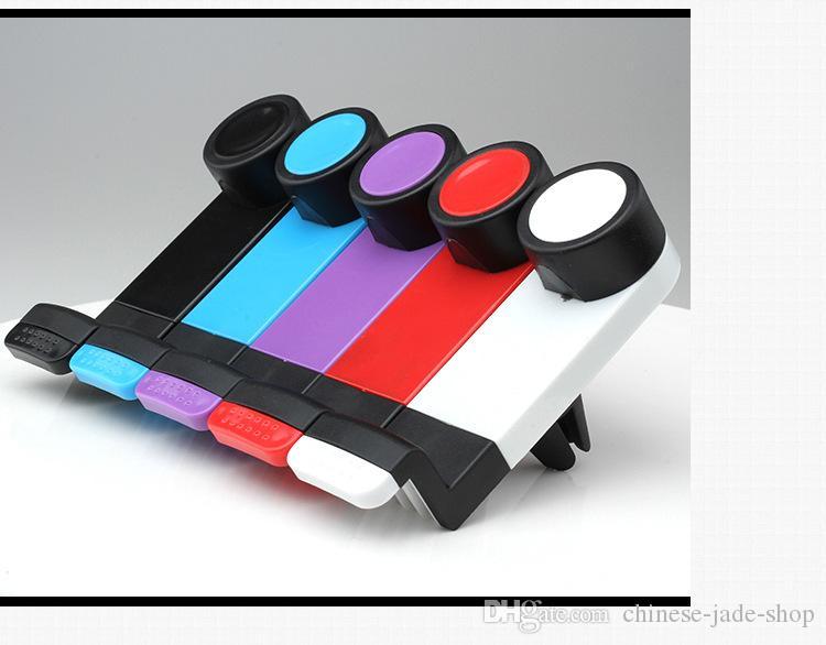 携帯電話のための6色の携帯用車の空気ベントマウントの所有者(ケネウレアのために似ています)SK226 100ピース/ロット