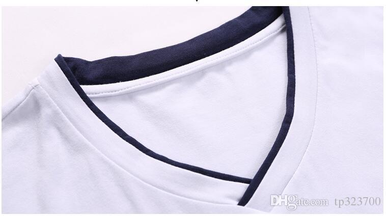 Hombres Mujeres Trajes Deportivos Transpirables Verano Manga Corta Rayas Masculinas Femeninas Al Aire Libre de Secado rápido Ropa Deportiva Running CamisetasPantalones