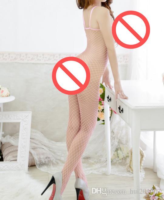 새로운 섹시한 메쉬 스타킹 섹시한 오픈 가랑이 바지 에로 여성 속옷 여자를위한 란제리 벗고 여자 착용