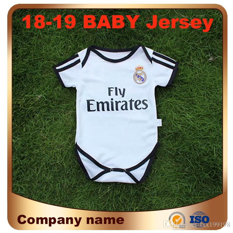 2941cca34 2019 2019 Real Madrid Baby Soccer Jersey 18 19 4 SERGIO RAMOS 10 MODRIC  Kids Kit Football Romper BENZEMA ASENSIO ISCO 9 18 Months Shirt Uniforms  From ...
