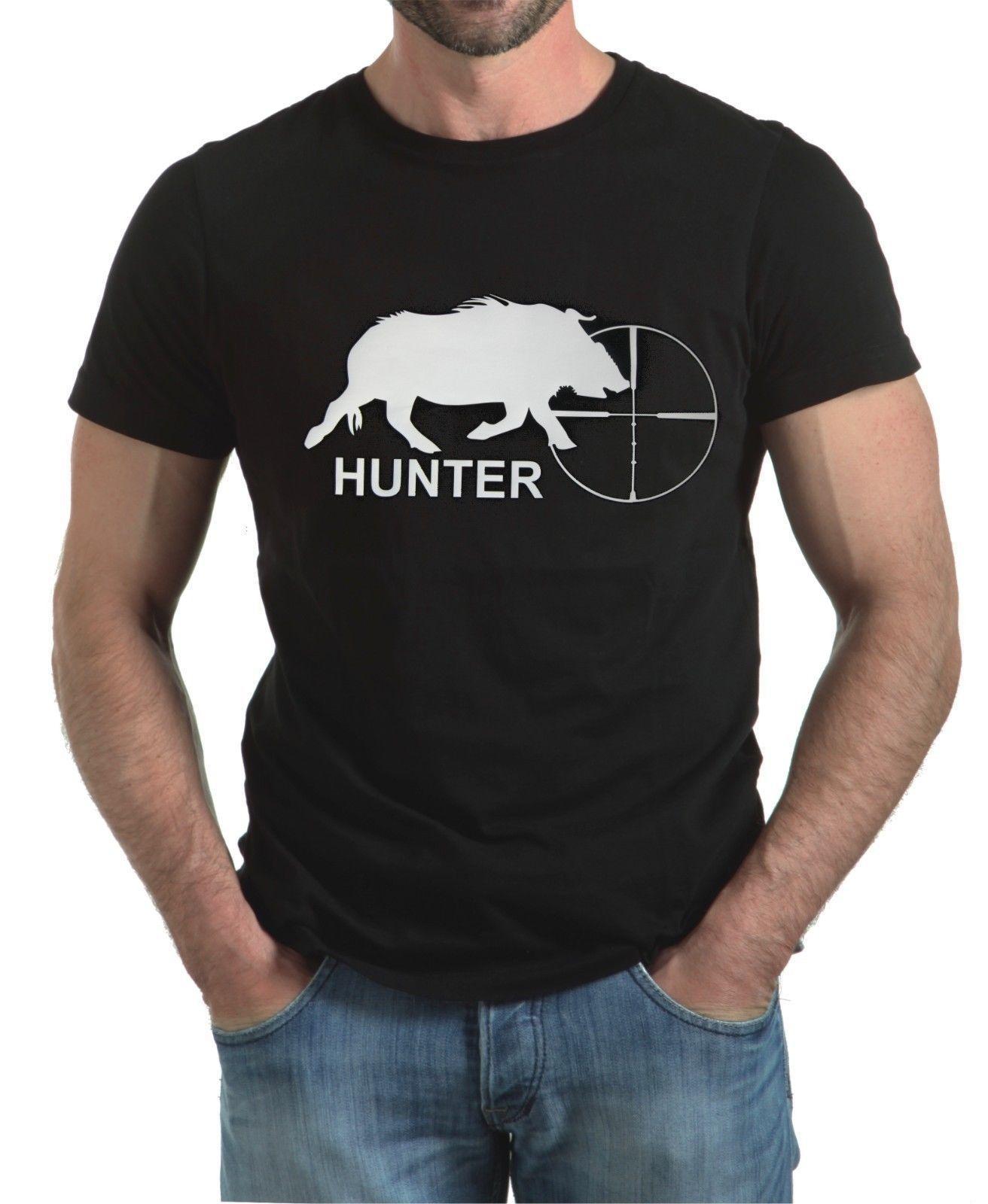 9fe8a6e76cfbe WILD BOAR HUNTING SHOOTING T SHIRT Awesome Shirt Design Free T Shirts From  Blastgear, $11.01| DHgate.Com